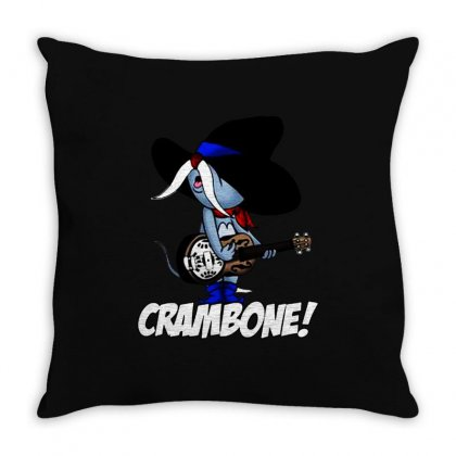 Uncle Pecos   Crambone Throw Pillow Designed By Jablay
