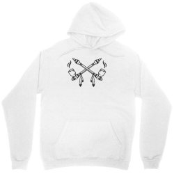 funny indian peace pipe Unisex Hoodie | Artistshot
