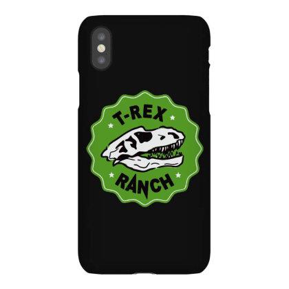 T Rex Ranch Iphonex Case Designed By Jablay
