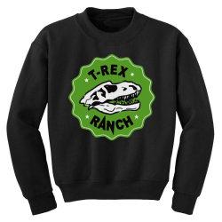 t rex ranch Youth Sweatshirt | Artistshot