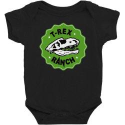 t rex ranch Baby Bodysuit | Artistshot