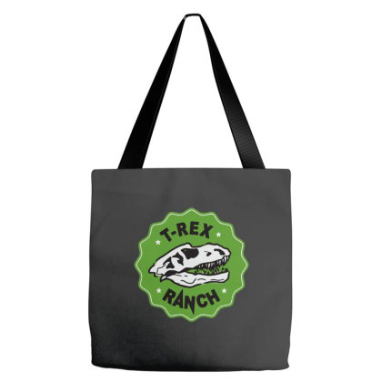 T Rex Ranch Tote Bags Designed By Jablay