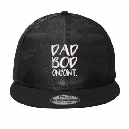 Dadbod Embroidered Hat Camo Snapback Designed By Madhatter