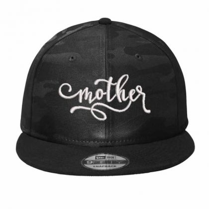 Mother Embroidered Hat,mother Camo Snapback Designed By Madhatter