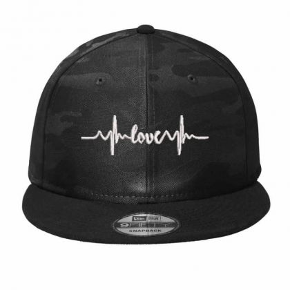 Love Waves Embroidered Hat Camo Snapback Designed By Madhatter