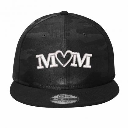 Mom Embroidered Hat Camo Snapback Designed By Madhatter