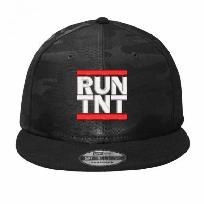 Run Tnt Embroidered Hat Camo Snapback Designed By Madhatter