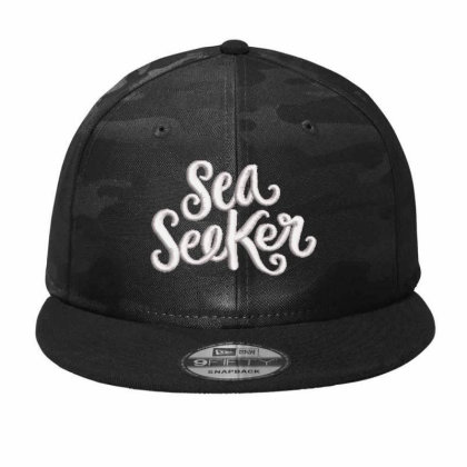 Sea Seeker Embroidered Hat Camo Snapback Designed By Madhatter