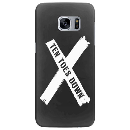 Deestroying Ten Toes Down Ttd Merch   For Dark Samsung Galaxy S7 Edge Case Designed By Just4you