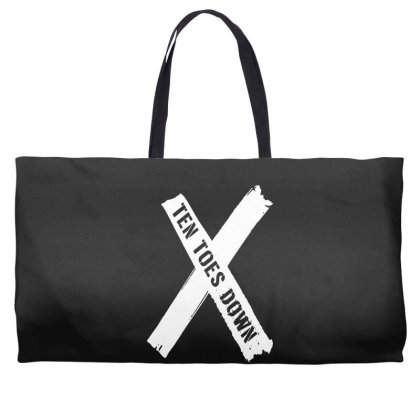 Deestroying Ten Toes Down Ttd Merch   For Dark Weekender Totes Designed By Just4you