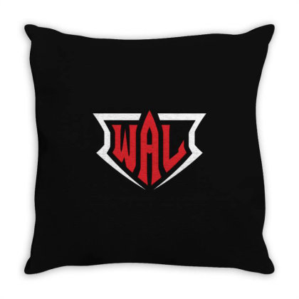 World Armwrestling League Throw Pillow Designed By Felicity