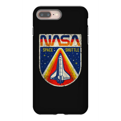 Nasa Vintage Iphone 8 Plus Case Designed By Colorfull Art