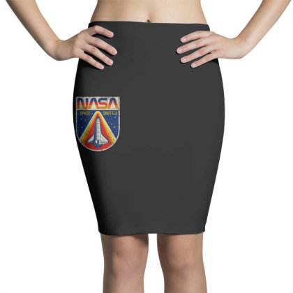 Nasa Vintage Pencil Skirts Designed By Colorfull Art