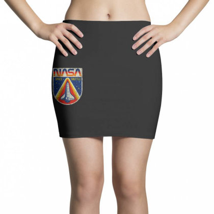 Nasa Vintage Mini Skirts Designed By Colorfull Art