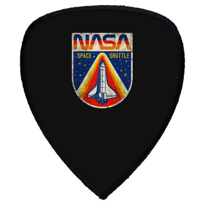Nasa Vintage Shield S Patch Designed By Colorfull Art