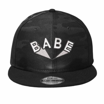 Babe Embroidered Hat Camo Snapback Designed By Madhatter
