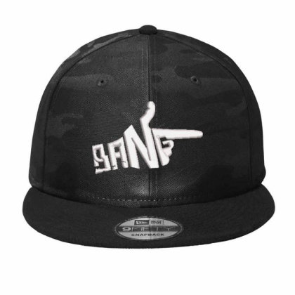 Bang Embroidered Hat Camo Snapback Designed By Madhatter