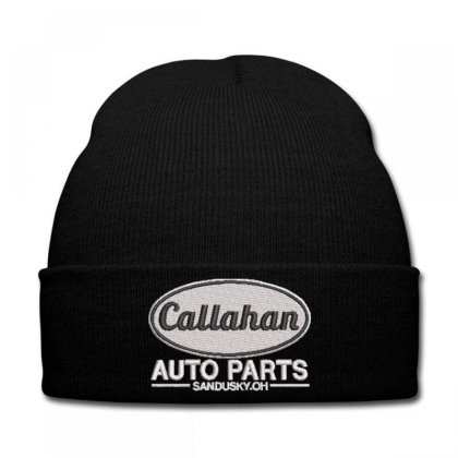 Callahan Embroidered Hat Knit Cap Designed By Madhatter