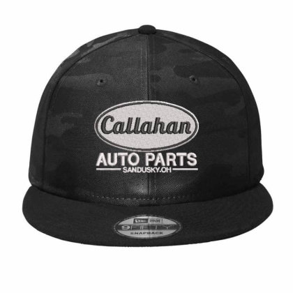 Callahan Embroidered Hat Camo Snapback Designed By Madhatter
