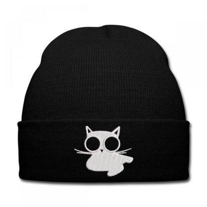 Kıttıy Embroidered Hat Knit Cap Designed By Madhatter