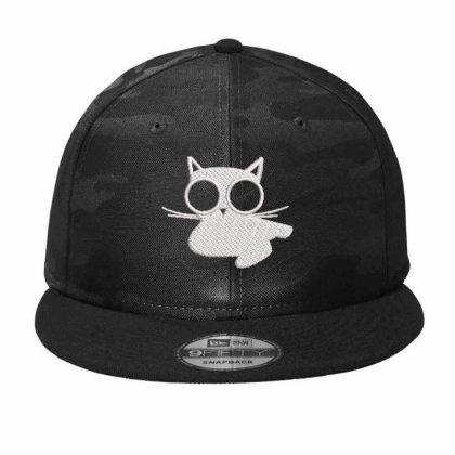Kıttıy Embroidered Hat Camo Snapback Designed By Madhatter