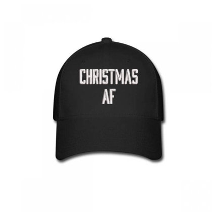 Chrıstmas Af Embroidered Hat, Baseball Cap Designed By Madhatter
