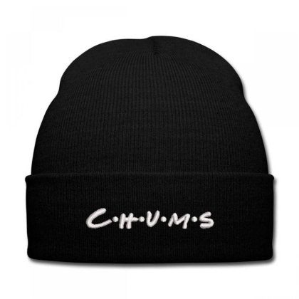 C.h.u.m.s Embroidered Hat, Knit Cap Designed By Madhatter