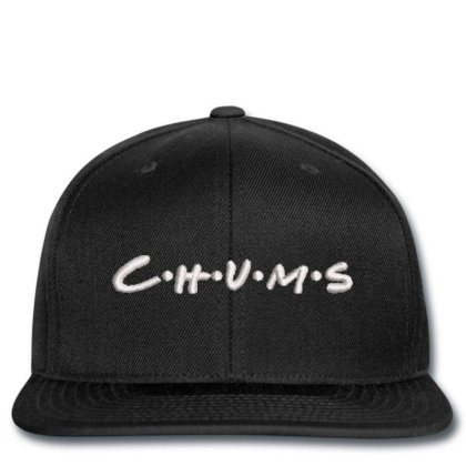 C.h.u.m.s Embroidered Hat, Snapback Designed By Madhatter