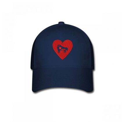 Heart Embroidered Hat Baseball Cap Designed By Madhatter