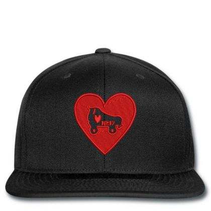 Heart Embroidered Hat Snapback Designed By Madhatter