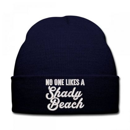 No One Likes Embroidered Hat Knit Cap Designed By Madhatter