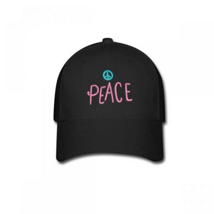 Peace Embroidered Hat Baseball Cap Designed By Madhatter
