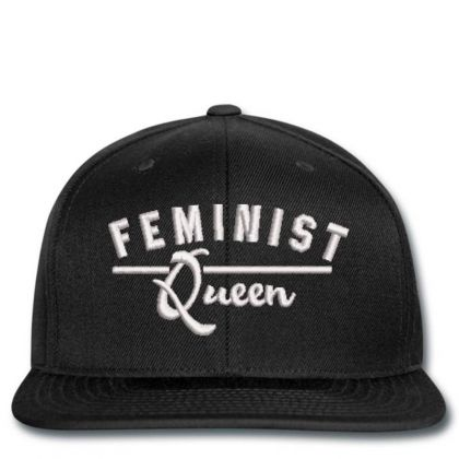 Feminist Queen Embroidered Hat Snapback Designed By Madhatter