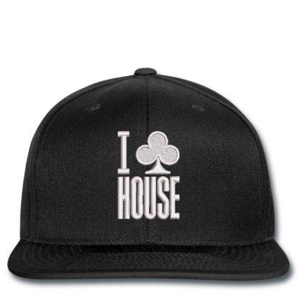 I Leaf House Embroidered Hat Snapback Designed By Madhatter