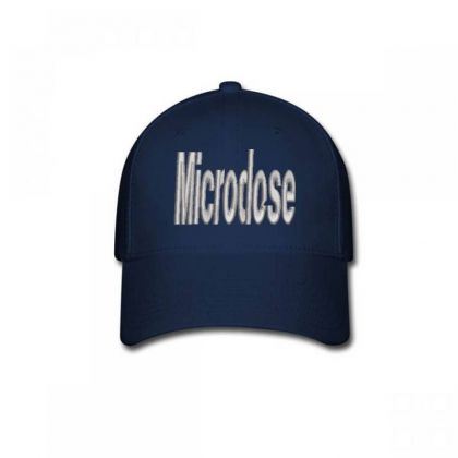 Microdose Embroidered Hat Baseball Cap Designed By Madhatter