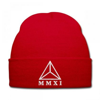 Mmxi Embroidered Hat Knit Cap Designed By Madhatter