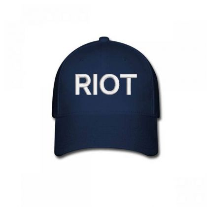 Riot Embroidered Hat Baseball Cap Designed By Madhatter