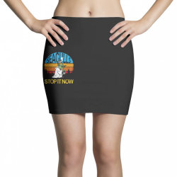 retro vintage seagulls stop it now Mini Skirts | Artistshot