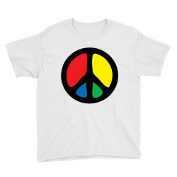 PEACE LOGO Youth Tee | Artistshot