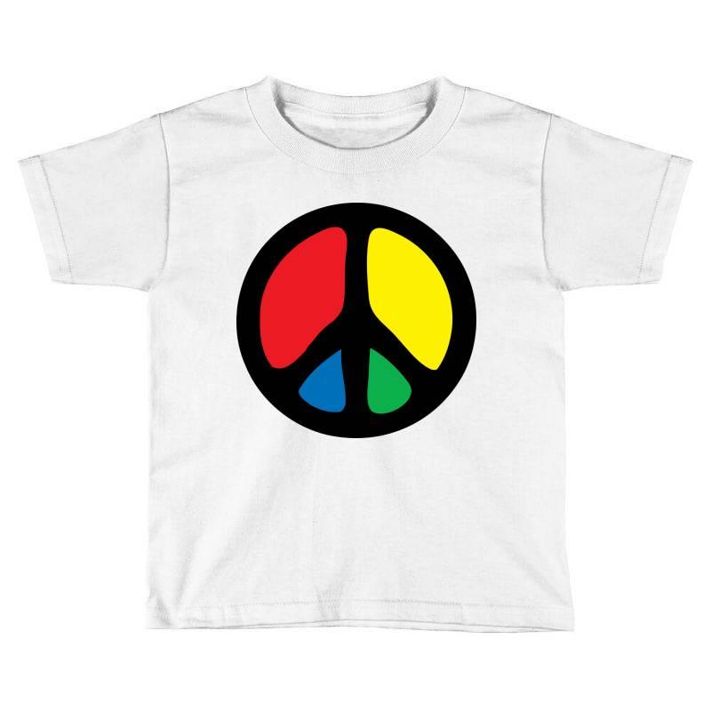 Peace Logo Toddler T-shirt | Artistshot