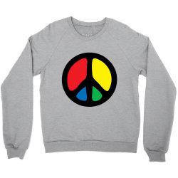 PEACE LOGO Crewneck Sweatshirt | Artistshot