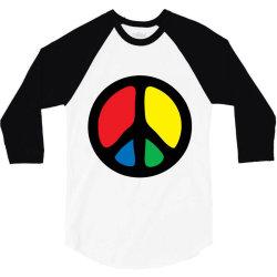 PEACE LOGO 3/4 Sleeve Shirt | Artistshot