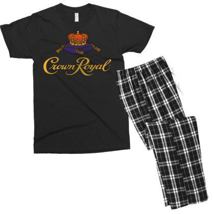 Crown Royal Men's T-shirt Pajama Set Designed By Erni