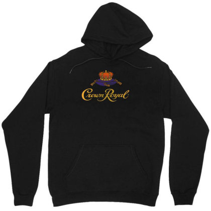 Crown Royal Unisex Hoodie Designed By Erni