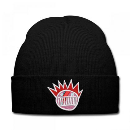 Crazy Embroidered Hat Knit Cap Designed By Madhatter