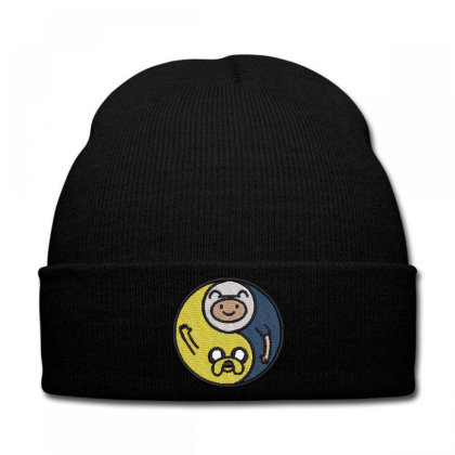 Friendship Embroidered Hat Knit Cap Designed By Madhatter