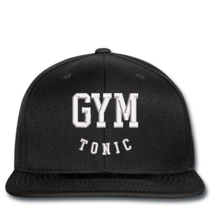 Gym Tonic Embroidered Hat Snapback Designed By Madhatter