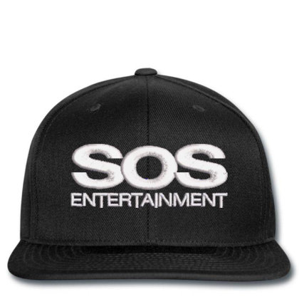 Sos Entertainment Embroidered Hat Snapback Designed By Madhatter
