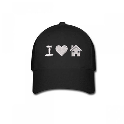 I Love Home Embroidered Hat Baseball Cap Designed By Madhatter