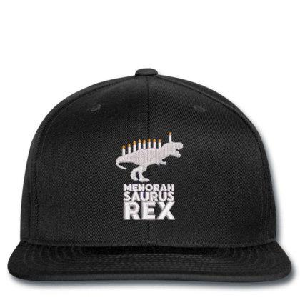 Menorah Saurus Rex Embroidered Hat Snapback Designed By Madhatter